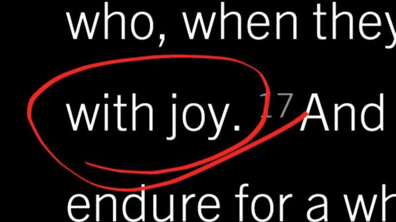 Invincible Joy Confirms Our Election