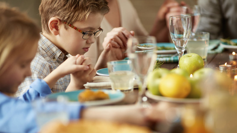 Why We Pray for Our Meals