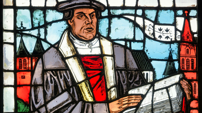 Trick or Treat? It's Martin Luther
